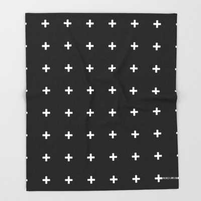"THROW BLANKET	/ 51"" X 60"" BLANKET - Society6"