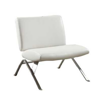Leather Parsons Lounge Chair - Wayfair