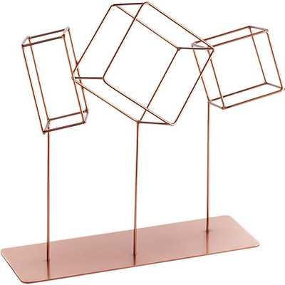 Rolling cube sculpture - CB2
