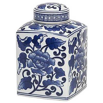 Tollmache Small Lidded Jar - High Fashion Home