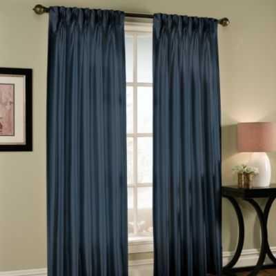 Paris Pinch-Pleated 95-Inch Window Curtain Panel - Bed Bath & Beyond