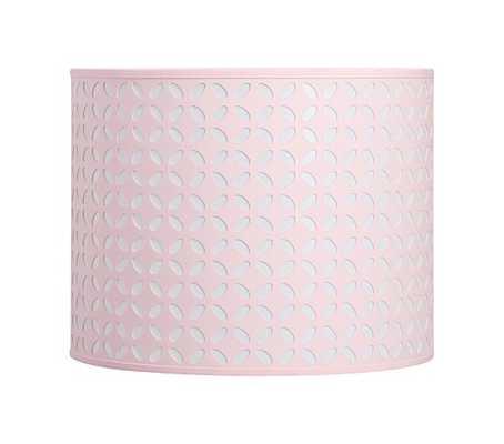 Samantha Cut Out Shade - Pink - Pottery Barn Kids