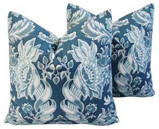 Kravet Lorton Linen Pillows, Pr - One Kings Lane