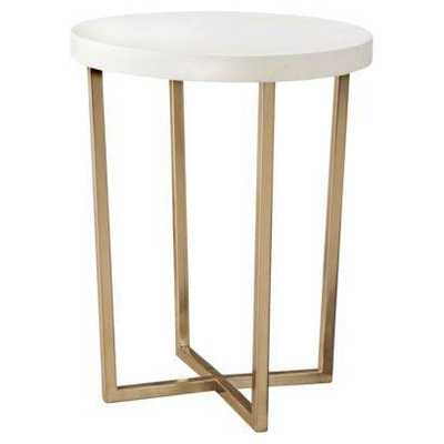 Threshold Round Accent Table - Domino