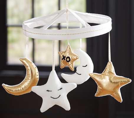 Emily & Meritt Moon & Stars Mobile - Pottery Barn Kids