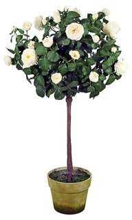 55'' Rose Tree, Faux - One Kings Lane
