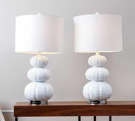 Abbyson Living Morin Stacked Sea Urchin Lamp - Tressle