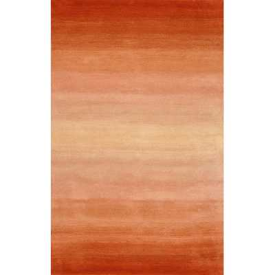 Ombre Orange Horizon Area Rug - AllModern