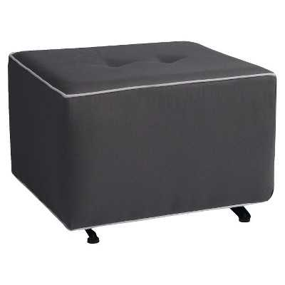 Little Castle Gliding Ottoman with Buttons - Target