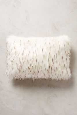 Faux-Fur Pillow - 12x18 - With Insert - Anthropologie