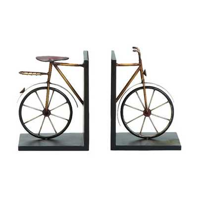 Bicycle Bookends (Set of 2) - jossandmain.com
