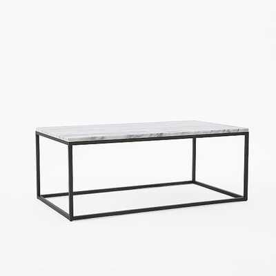"Box Frame Coffee Table, Wide (24.5"") - West Elm"