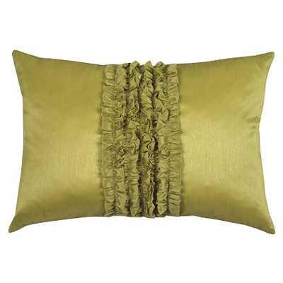 Urban Loft Ruffle Lumbar Pillowby Westex - Wayfair