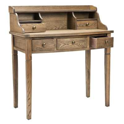 Landon Secretary Desk by Safavieh - Wayfair