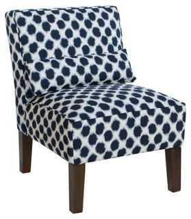 Bergman Armless Chair - One Kings Lane
