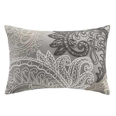 Kiran Embroidered Cotton Lumbar Throw Pillow - AllModern