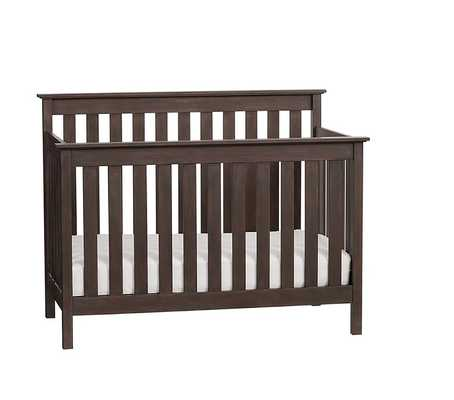 Elliott 3-In-1 Crib-Chocolate - Pottery Barn Kids