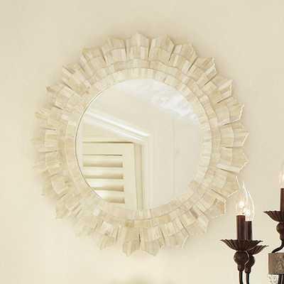 Bone Sunburst Mirror - Ballard Designs