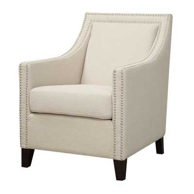 Nailhead Arm Chair - Wayfair
