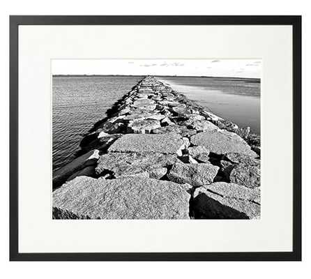 The New York Times Archive - Walkway - 26x22, Framed - Pottery Barn
