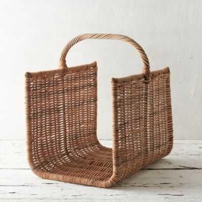 Wicker Firewood Basket - shopterrain.com