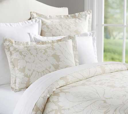 DAMASK DUVET COVER - Pottery Barn