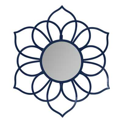 Brienne Metal Flower Wall Mirror - Wayfair