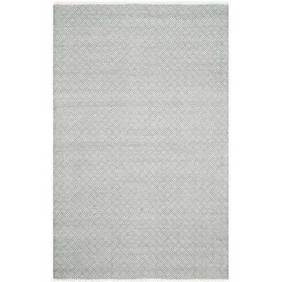 Safavieh Hand-Tufted Boston Grey Cotton Rug (8' x 10') - Overstock