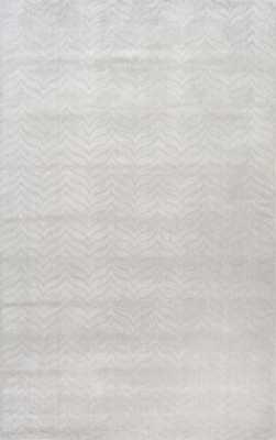 "Hand Woven Lundberg Rug - Grey - 7'6"" x 9'6"" - Loom 23"