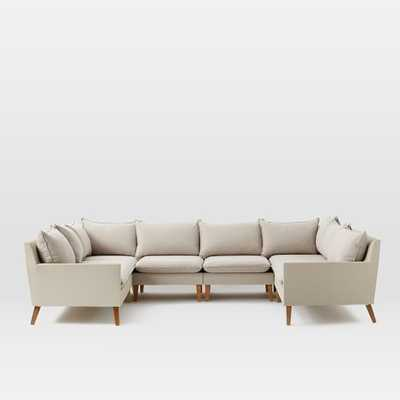 Bliss Outdoor 6-Piece Sectional - West Elm