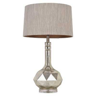 Faceted Mercury Glass Table Lamp - Target