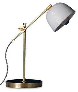 Swivel Task Lamp, Brass - One Kings Lane