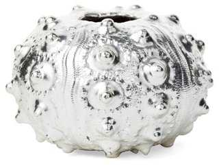 Silver-Plated Sutnick Sea Urchin - One Kings Lane