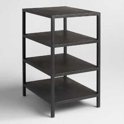 Black 3 Shelf Colton Mix & Match Desk Base - World Market/Cost Plus