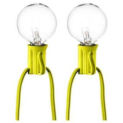"25ct Clear Globe Lights - Room Essentialsâ""¢ - Target"