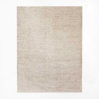 Mini Pebble Wool Jute Rug - West Elm