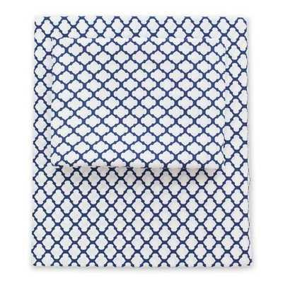 BLUE CLOUD SHEET SET 1 (FITTED, FLAT, & PILLOW CASES) - Crane & Canopy