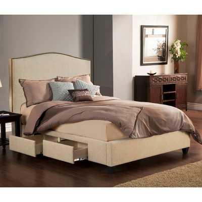 Newport Storage Platform Bed - AllModern