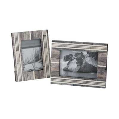 Frame in Gray and White - Wayfair
