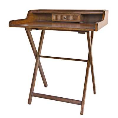 Folding Easton Writing Desk by Carolina Cottage - AllModern