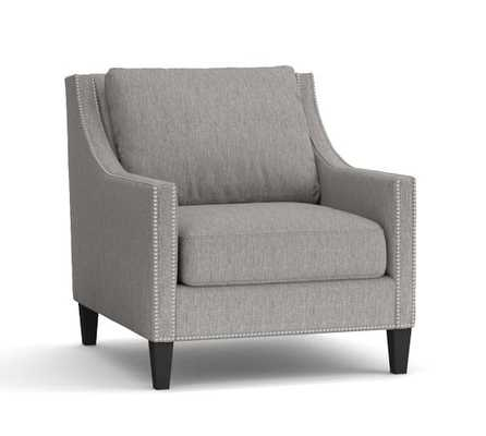 PASADENA UPHOLSTERED ARMCHAIR - Pottery Barn