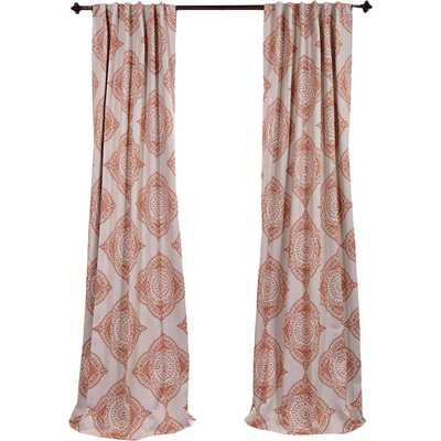 "Henna Blackout Single Curtain Panel - 108"" - Wayfair"