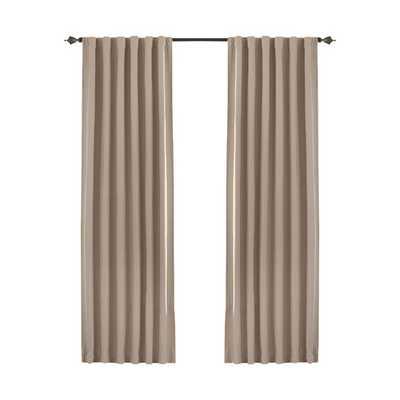 Fresno Single Curtain Panel - Wheat, 52x63 - AllModern