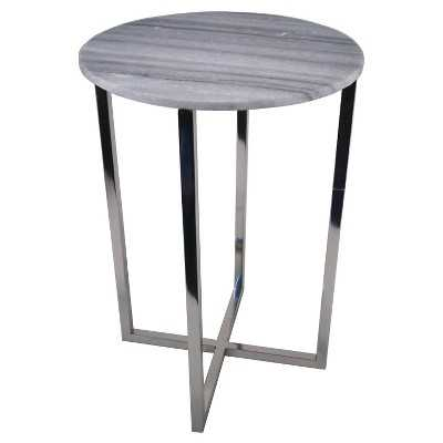 Round Marble Top Accent Table - Target