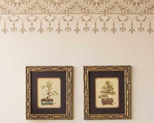 Grand Mughal Moroccan Border Stencil Furniture and Craft Stencil - Etsy
