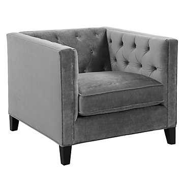 Royce Chair - Charcoal - Z Gallerie