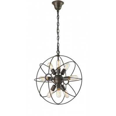 Sputnik 9 Light Crystal Chandelier - Wayfair