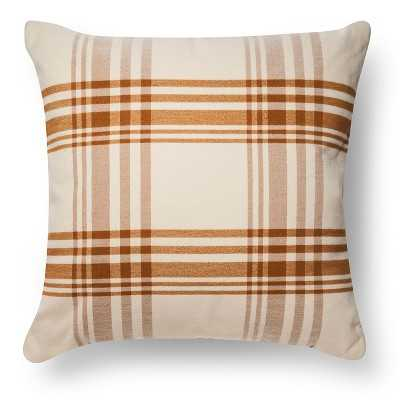 Oversized Pillow Plaid - Target