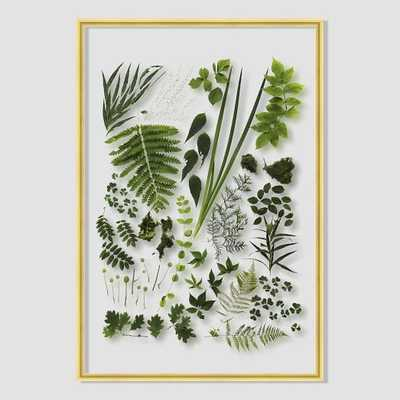 "Still Acrylic Wall Art - Verdant - 16""w x 24""h - Framed - West Elm"