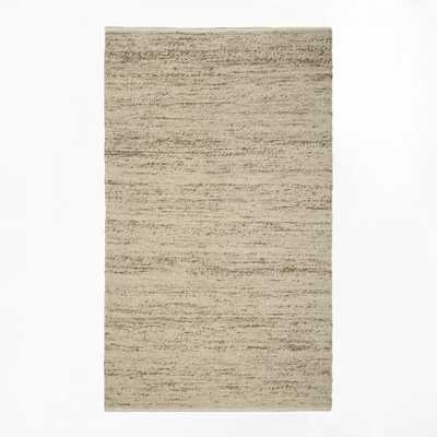 Sweater Wool Rug - Oatmeal - 8' x 10' - West Elm